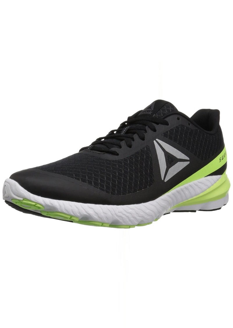 Reebok Men's Sweet RD SE Sneaker Black/Electric Flash/ash Grey  M US