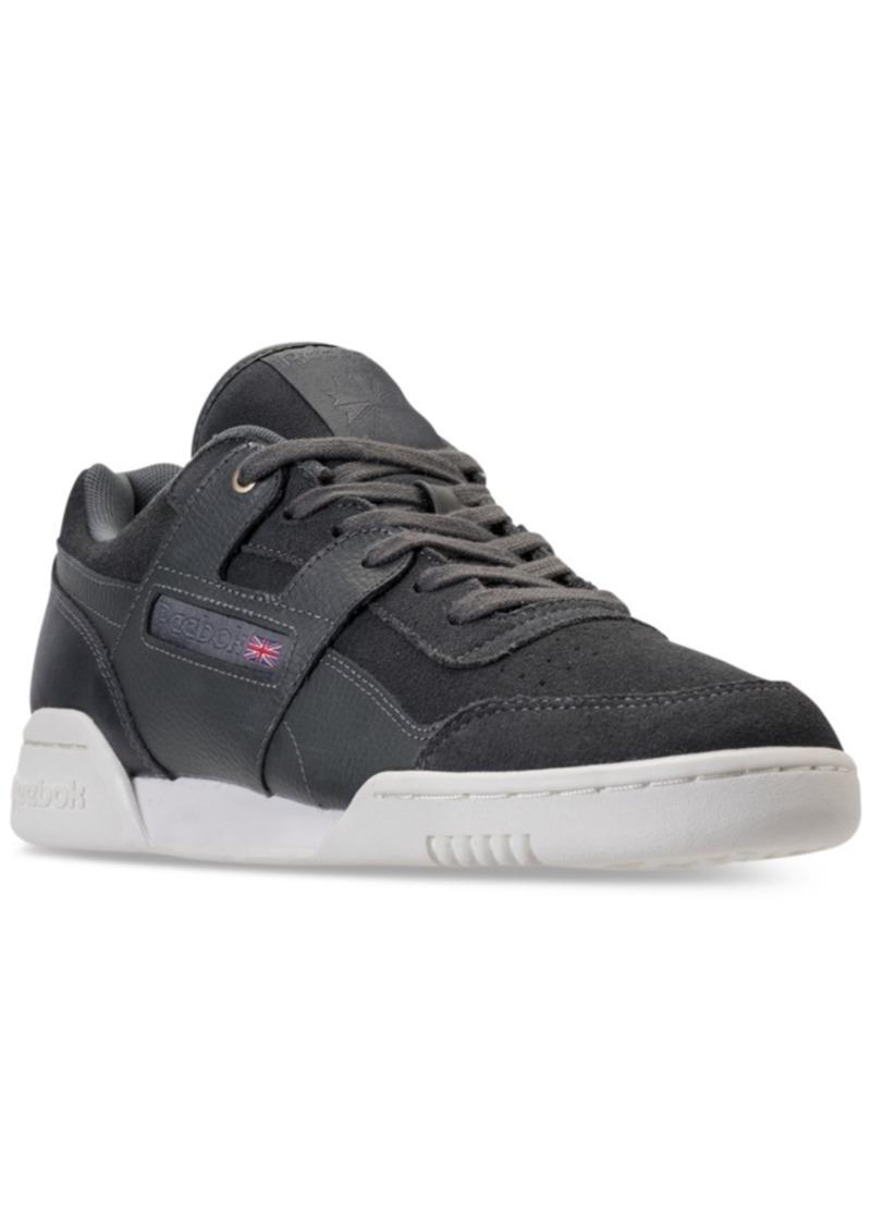 Reebok Reebok Men s Workout Plus Mcc Casual Sneakers from Finish ... 7d748c832