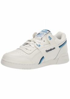 Reebok Men's Workout Plus Shoes chalk/collegiate navy/cyan  M US