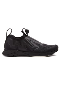 Reebok Pump Supreme low-top mesh trainers