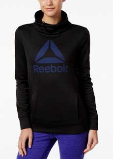 Reebok Speedwick Cowl-Neck Graphic Sweatshirt