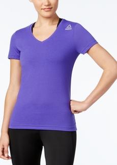 Reebok Speedwick Supremium V-Neck T-Shirt