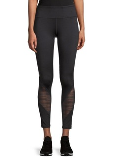 Reebok Stripe-Paneled Leggings