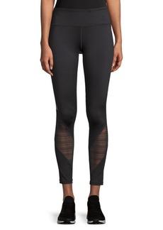 Stripe-Paneled Leggings