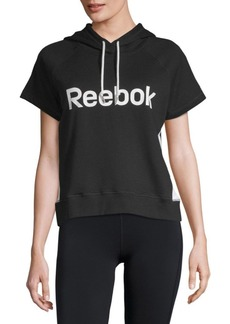 Reebok Throwback Short-Sleeve Hoodie
