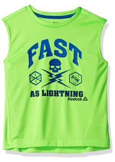 Reebok Toddler Boys' Fast Active Muscle Tank