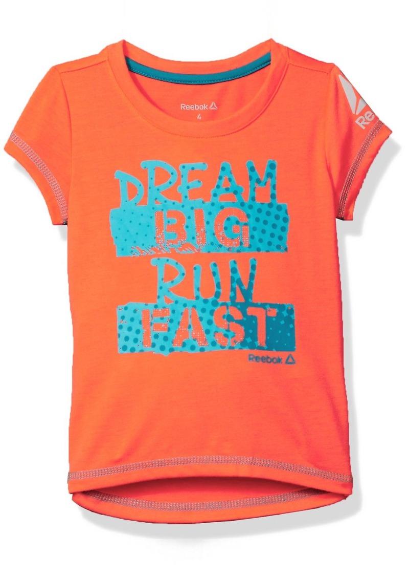 Reebok Toddler Girls' Dream Big Tee