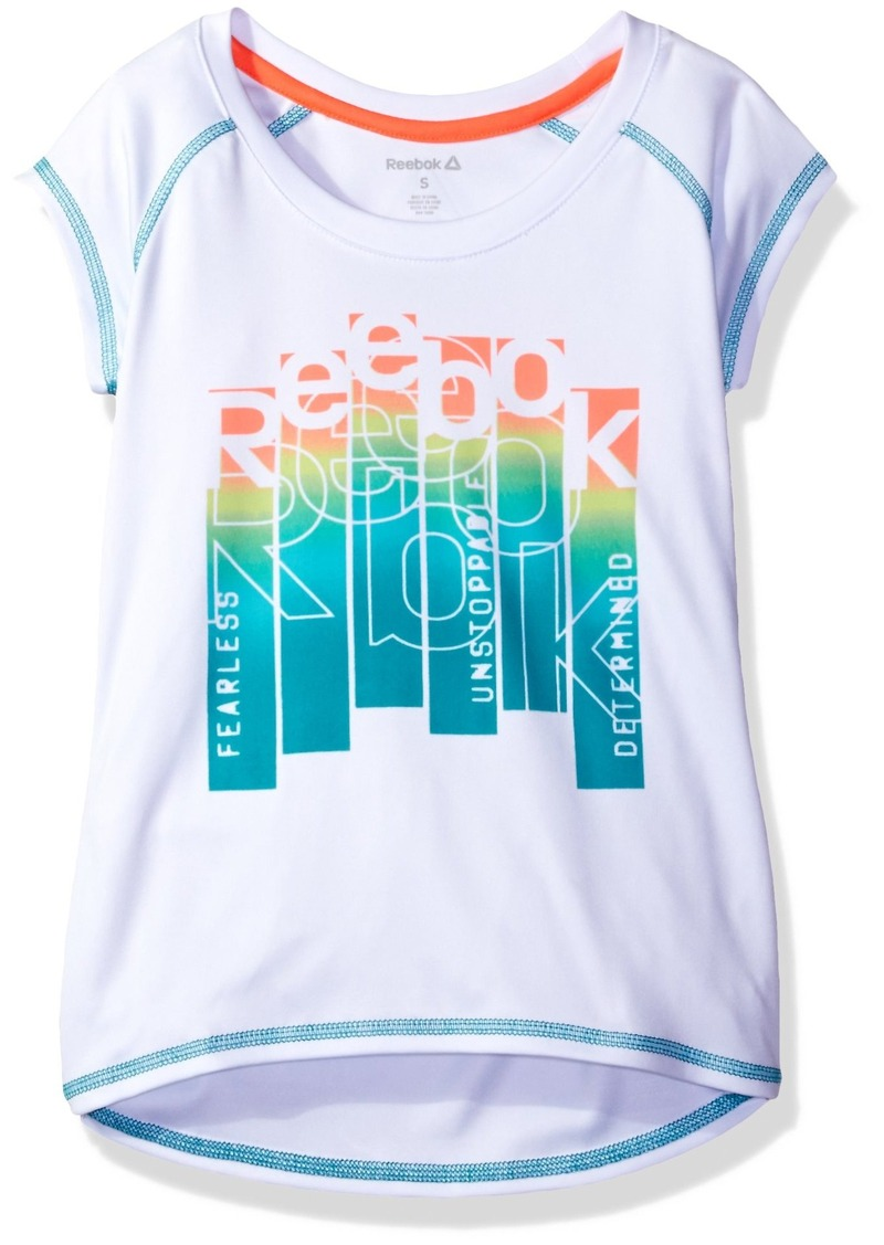 Reebok Toddler Girls' Unstoppable Ombre Tee