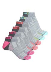 Reebok Triangle No-Show Socks - 6 Pack, Below the Ankle (For Women)