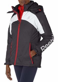 Reebok Women's Active Jacket Ski System Black pop L