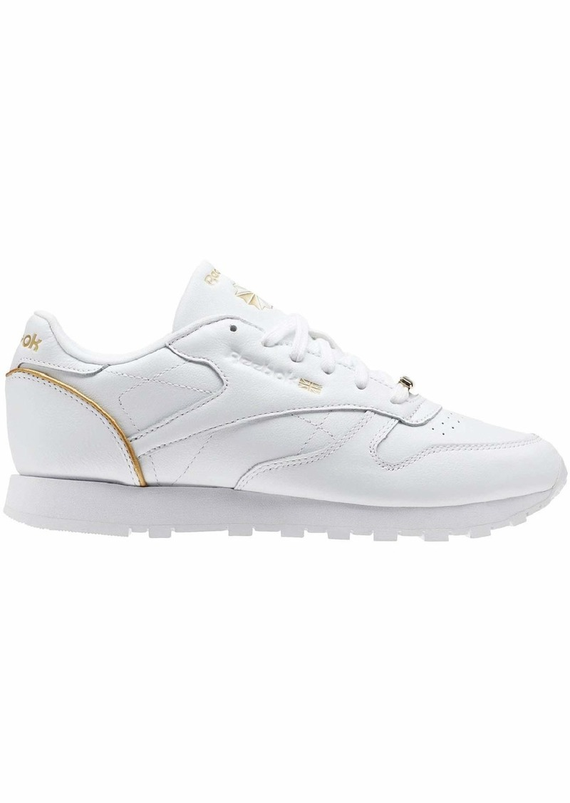 Reebok Women's CL LTHR HW Sneaker   M US
