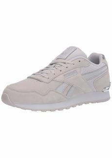 Reebok Women's Classic Harman Run Clip Sneaker Porcelain/Silver met./White  M US