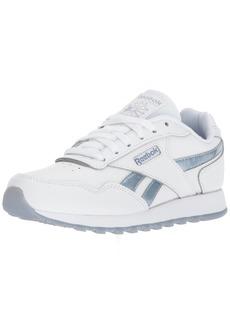 Reebok Women's Classic Harman Run Sneaker White/rain Cloud/Frostbite Metallic