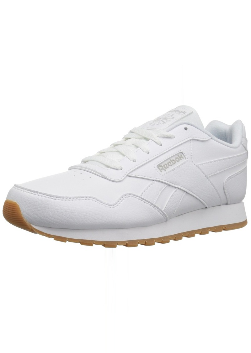 Reebok Womens Classic Harman Run Sneaker white/steel/gum  M US