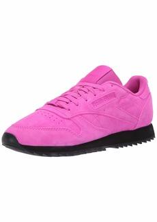 Reebok Women's Classic Leather Ripple Sneaker   M US