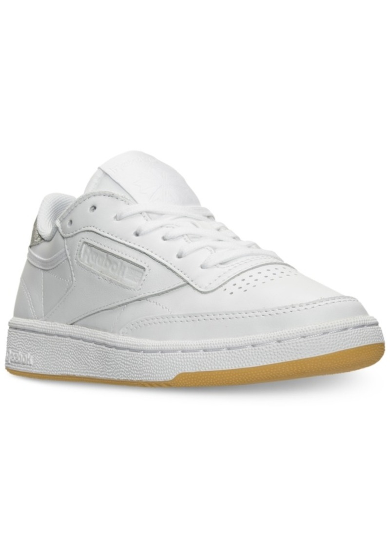0171bbce7b38f Reebok Reebok Women s Club C 85 Diamond Casual Sneakers from Finish ...