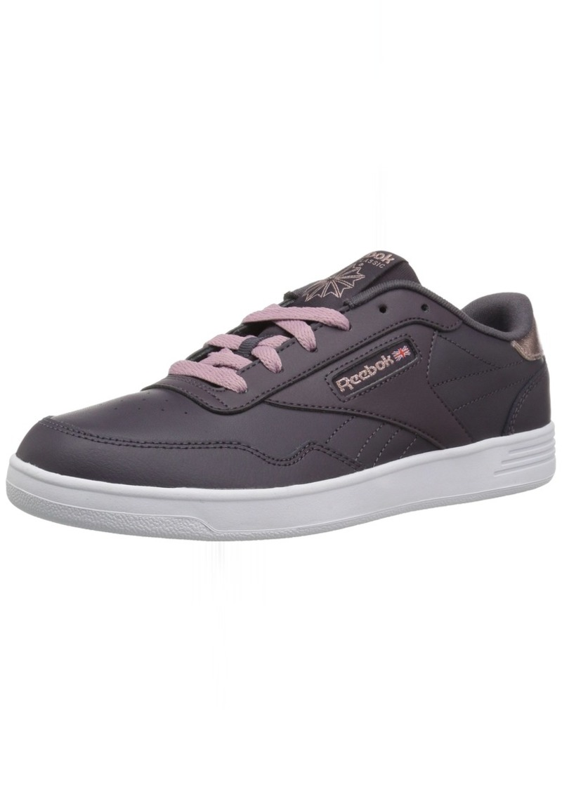 Reebok Women's Club MEMT Walking Shoe Smoky Volcano/Rose GOL  M US