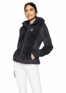 Reebok Women's Double Monkey Fleece Active Jacket  L