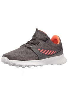 Reebok Women's ELLE Running Shoe HTHR-Ash Grey/Coal/Vitamin C/White