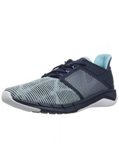 Reebok Women's Fast Flexweave Running Shoe Collegiate Navy/Blue Lagoon/raincloud/White