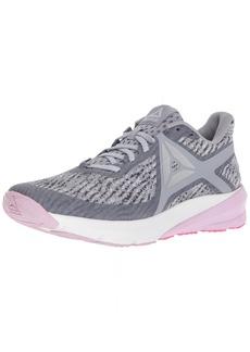 Reebok Women's GRASSE Road Sneaker Cool Shadow/White/Porcelain/ash Grey/Moonglow/Acid Pink