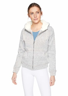 Reebok Women's Hooded Sweater Fleece Active Jacket  L