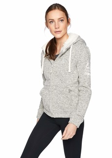 Reebok Women's Hooded Sweater Fleece Active Jacket  XL
