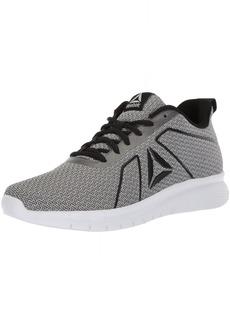 Reebok Women's Instalite PRO Sneaker HTHR-Black/White/ash Grey