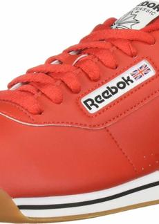 Reebok Women's Princess Sneaker techy red/white/gum  M US