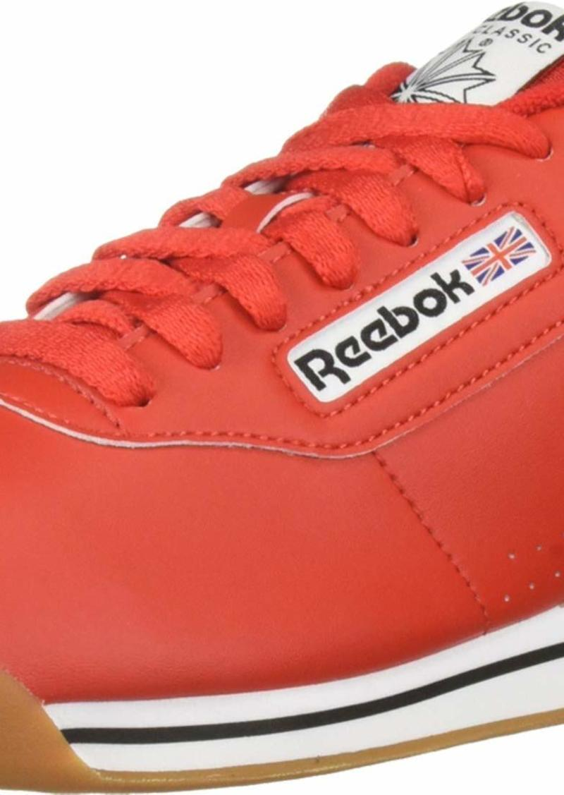 Reebok Women's Princess Sneaker techy red/white/gum  M US