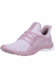 Reebok Women's Print Her 3.0 Running Shoe KNT-Infused Lilac/Lavender Leather