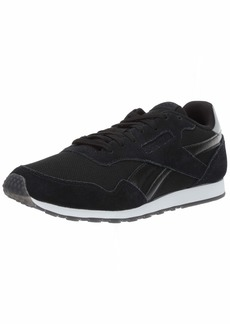 Reebok Women's Royal Ultra SL Sneaker Black/Silver met/White  M US