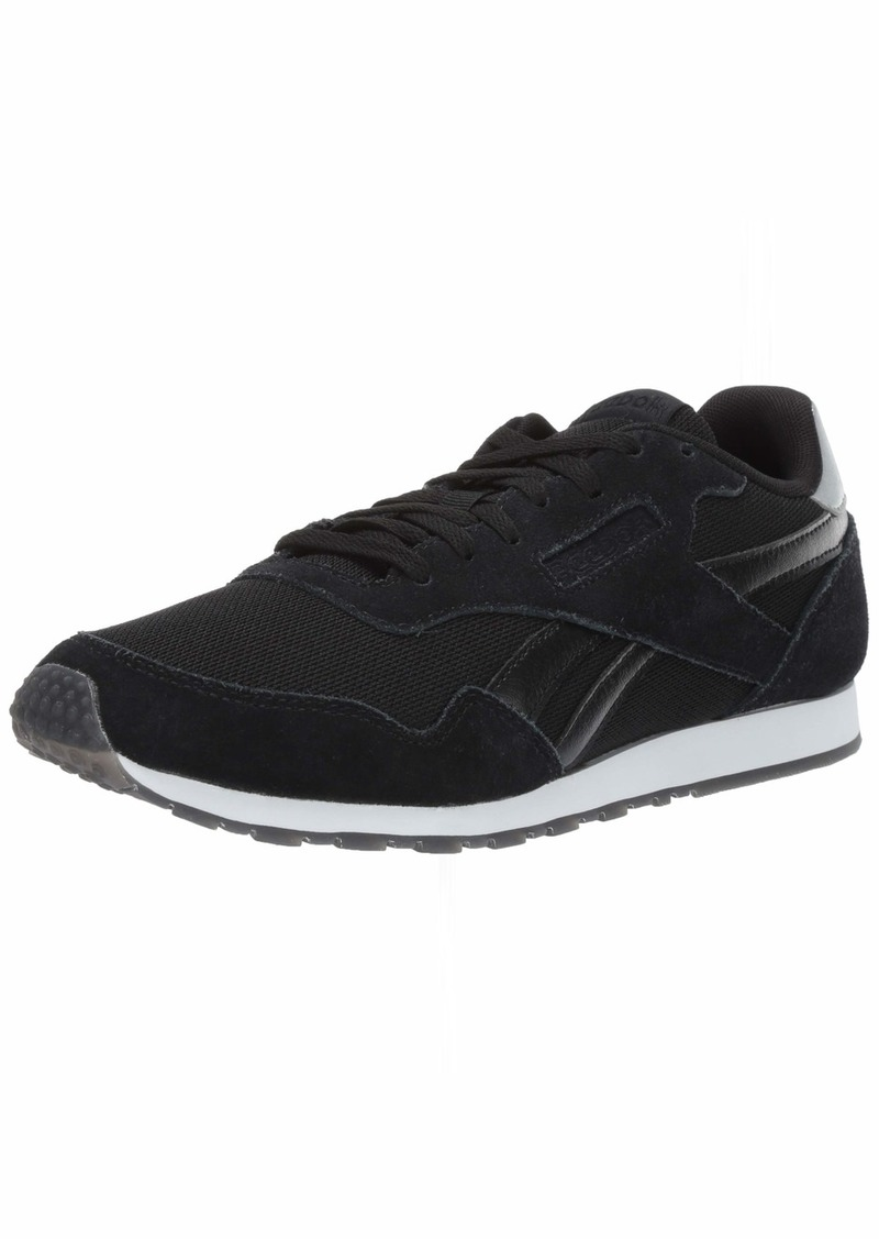 Reebok Women's Royal Ultra SL Sneaker Black/Silver met/White  M US