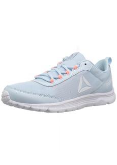 Reebok Women's Speedlux 3.0 Running Shoe Dreamy Blue//White/Silver met  M US
