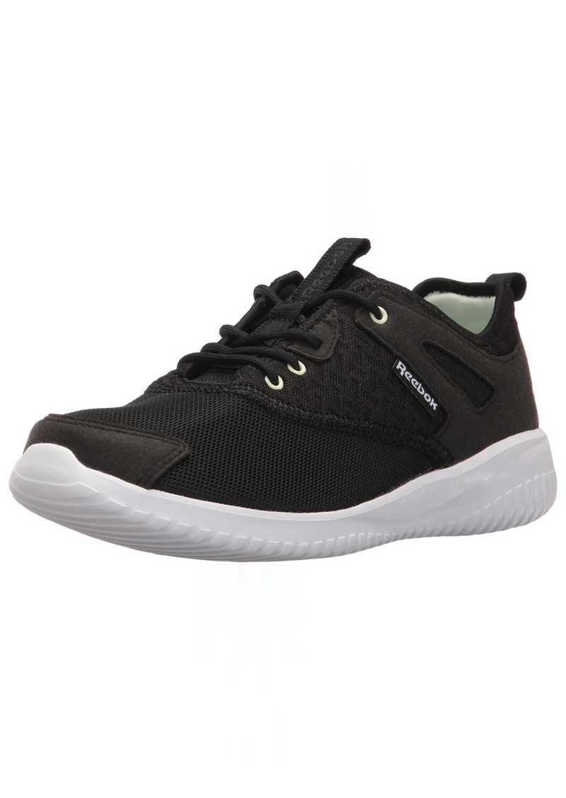 Reebok Women's stylescape 2.0 Arch Fashion Sneaker Black/DGH Solid Grey/White/Cool Sage  M US