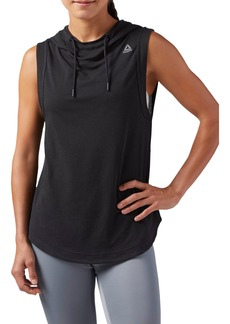 Reebok Workout Ready Sleeveless Hoodie