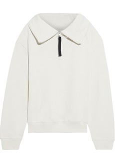 Reebok X Victoria Beckham Woman French Cotton-terry Sweatshirt Beige