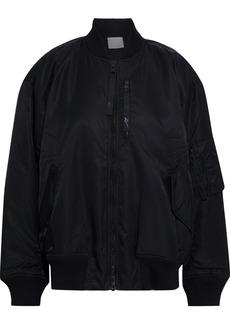 Reebok X Victoria Beckham Woman Shell Bomber Jacket Black