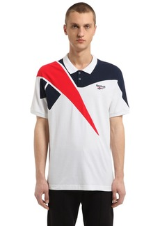 Reebok Retro Cotton Piqué Polo Shirt