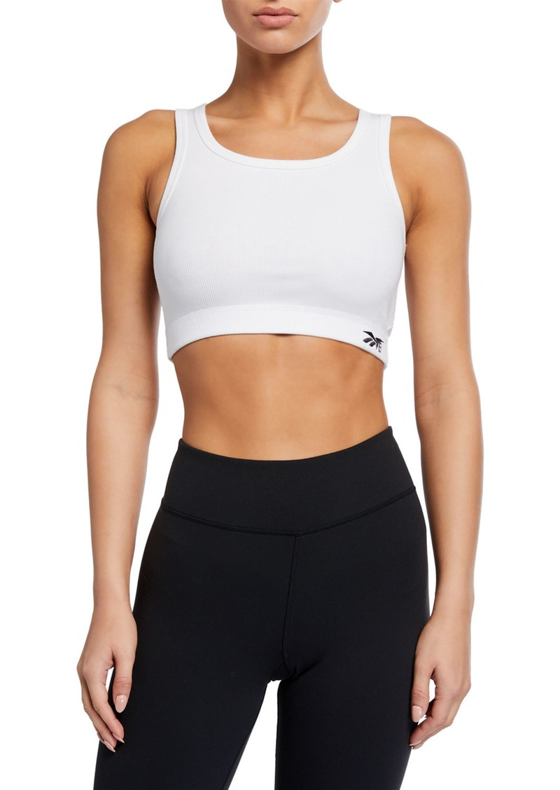 Reebok Ribbed Active Crop Top