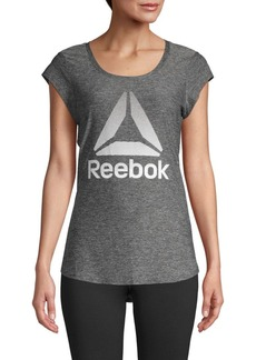 Reebok Short-Sleeve Logo Top