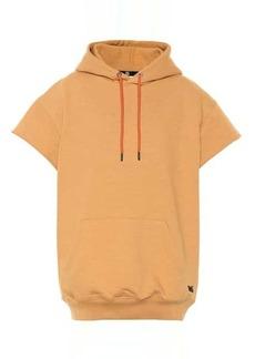 Reebok Short-sleeved cotton hoodie
