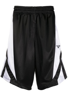 Reebok side panel basketball shorts