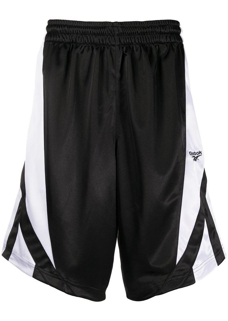 Reebok side panel basketball shorts