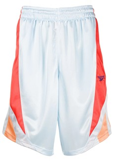 Reebok side stripe basketball shorts