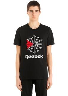 Reebok Slim Fit Logo Cotton Jersey T-shirt