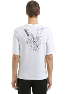 Reebok Slim Fit Printed French Terry T-shirt