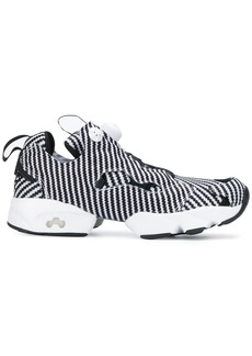 Reebok striped Insta Pump sneakers