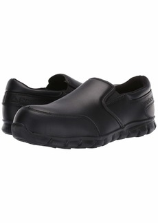 Reebok Sublite Cushion Work Comp Toe ESD Slip On