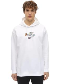 Reebok Tom & Jerry Cotton Sweatshirt Hoodie